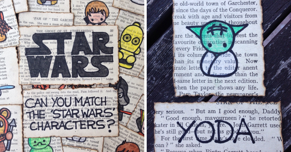 My 13-Year-Old Daughter Made This Star Wars Identification Kit Game For Her Friend's Birthday