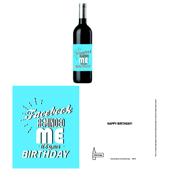 Finally! A Clever Way To Gift Wine With These Hilarious Wine Labels.