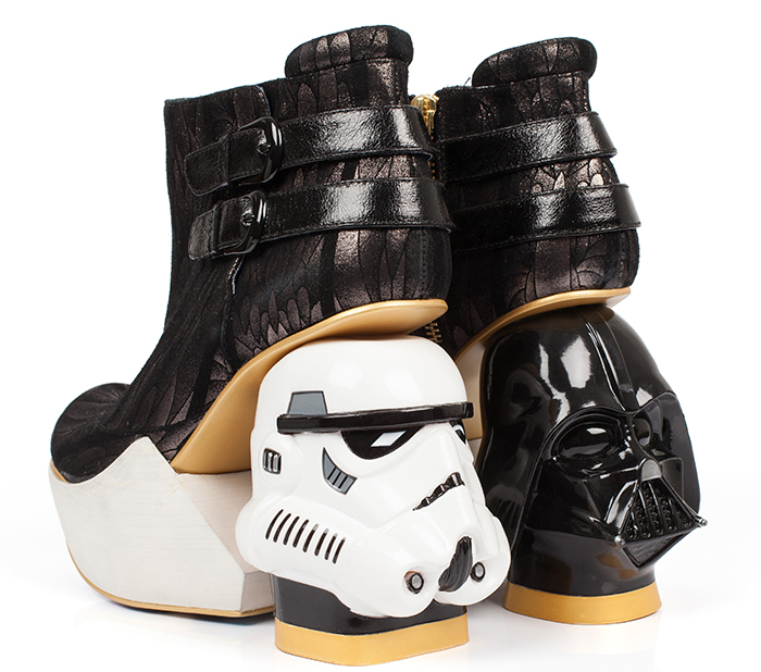 A Long Time Ago In A Galaxy Far, Far Away… I Created A Footwear Collection!