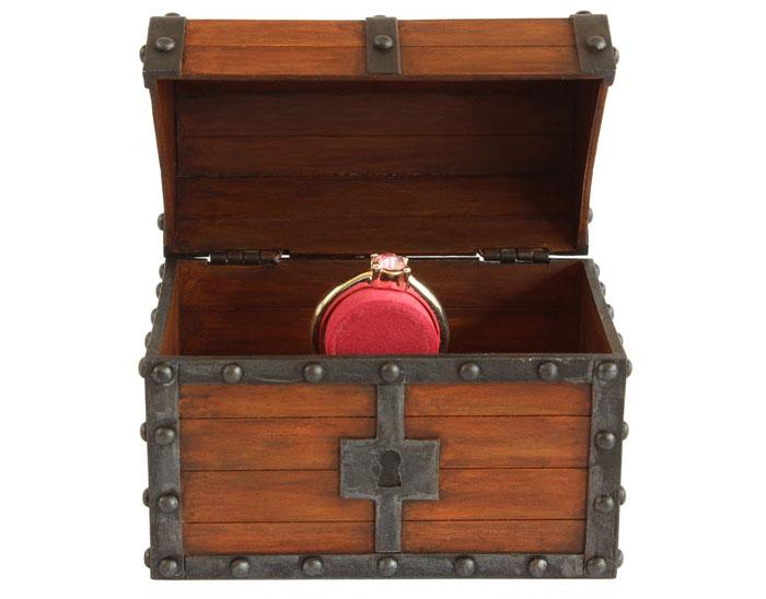 Zelda Treasure Chest Ring Box