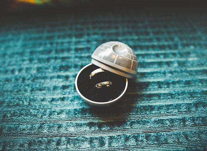 Death Star Ring Box