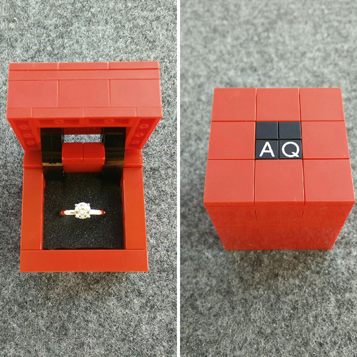 786e74f9eb 60 Geeky Engagement Rings And Boxes No Geeky Girl Can Refuse | Bored Panda