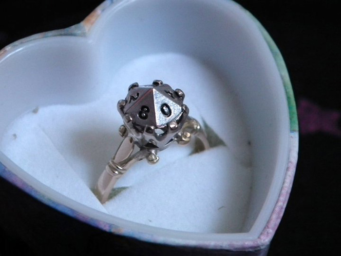 D10 Engagement Ring