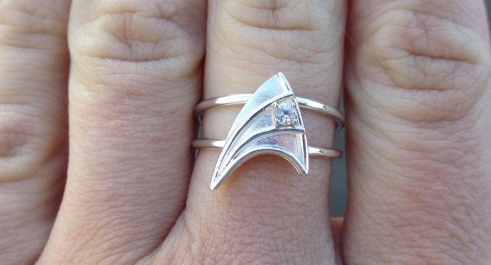 Star Trek Insignia Ring