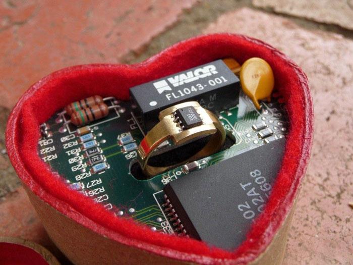Microchip Ring