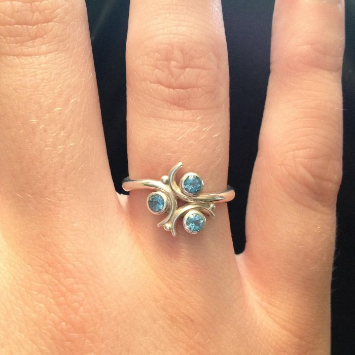 Zelda Zora's Sapphire Ring