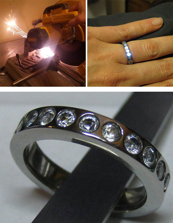 house nerd engagement nerdy harry sterling for wedding men potter silver ring music rings