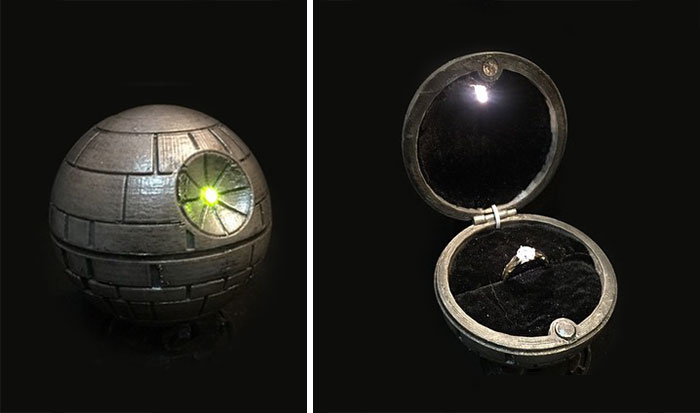 Death Star Ring Box