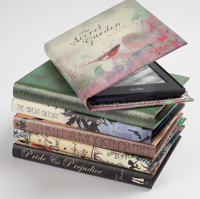 Vintage Book Kindle Case