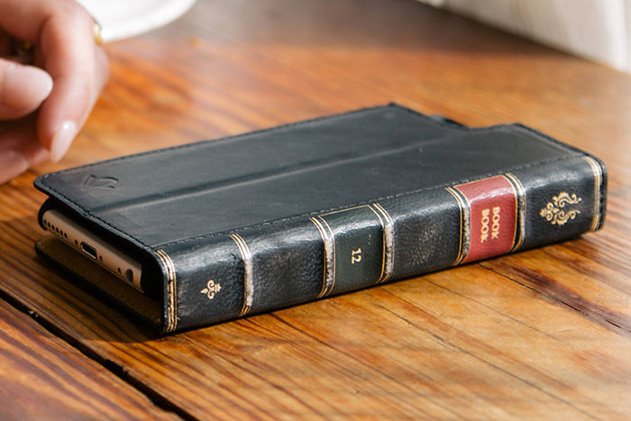 Leather Book Cover Phone Case