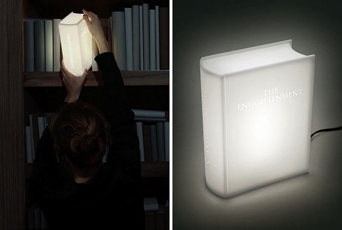 Book-Shaped Lamp