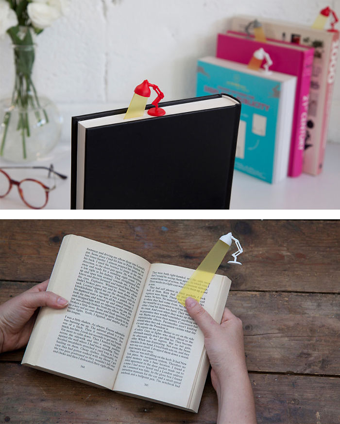 Reading Lamp Bookmark