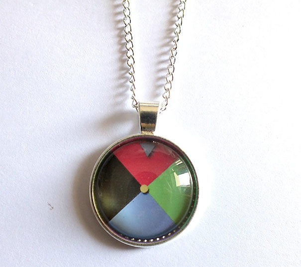 Howl's Moving Castle Inspired Necklace Magic Door Portal