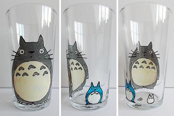 Totoro Glass