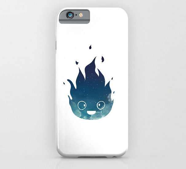 Calcifer From Howl's Moving Castle Phone Case