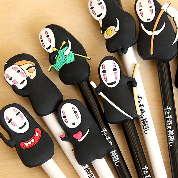 Cute No Face From Spirited Away Gel Pen
