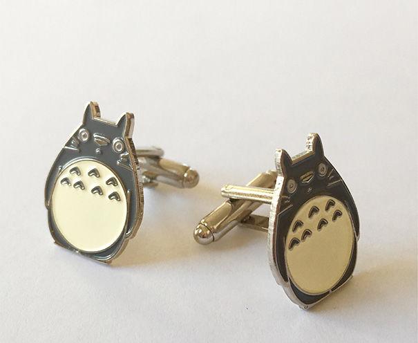 Totoro Cuff Links