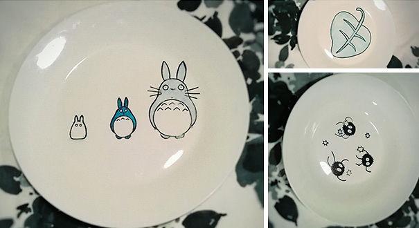 Totoro Dinner Set