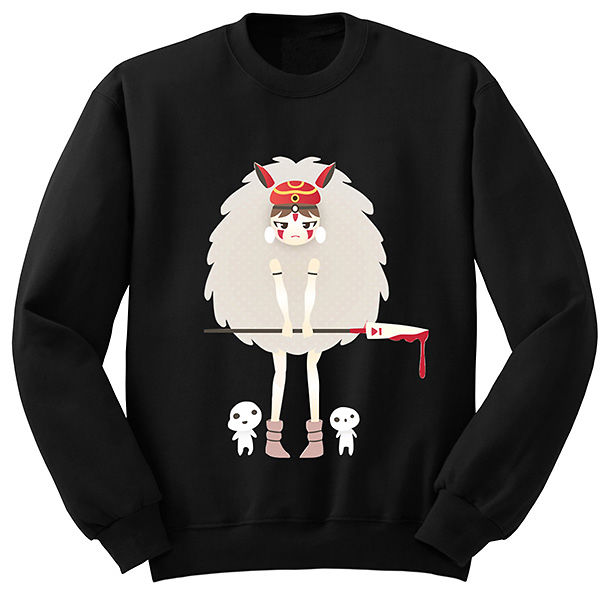 Princess Mononoke Sweatshirt