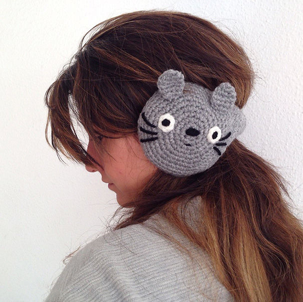 Totoro Earmuffs