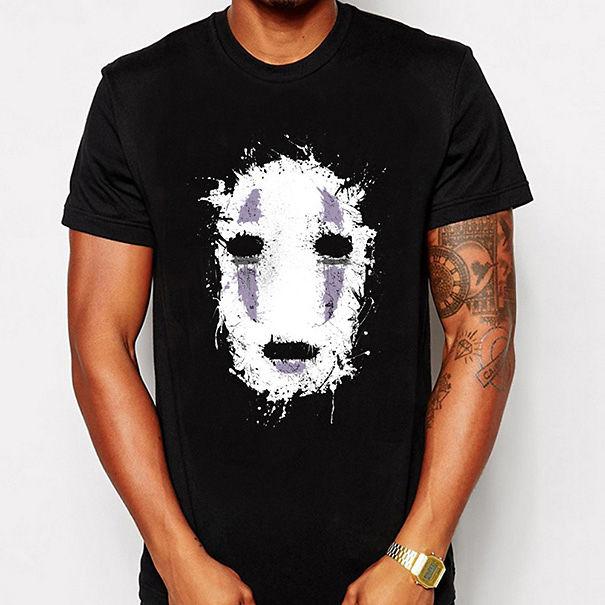 No Face From Spirited Away T-shirt