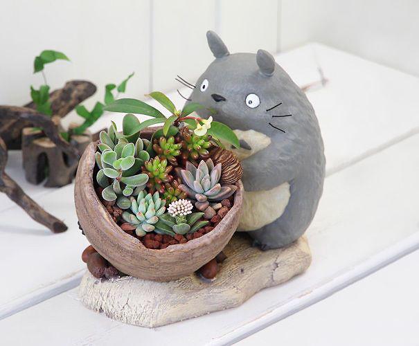 Totoro Planter