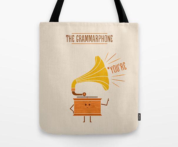 The Grammarphone Bag