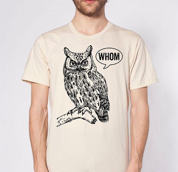 Grammar Owl T-shirt