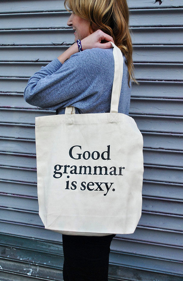 Good Grammar Is Sexy Tote Bag