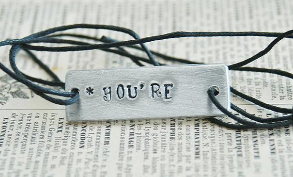 Grammar Inspired Bracelet