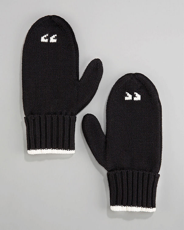 Air-quote Mittens