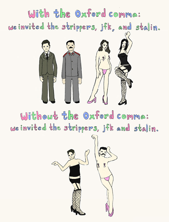 Grammar Is Important, Kids