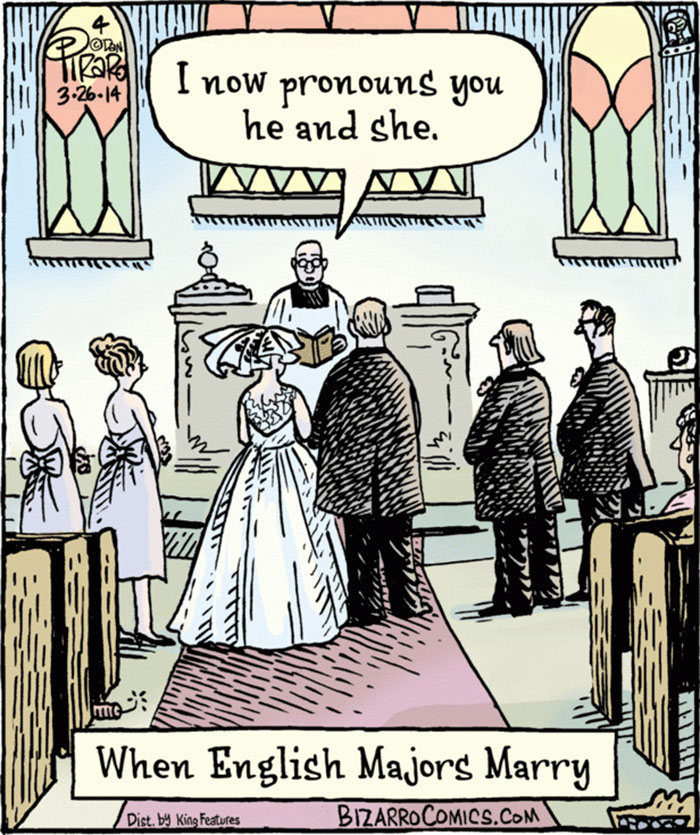 When English Majors Marry