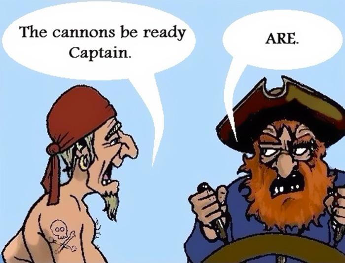 Grammar Pirates