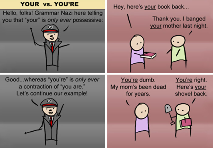 A Lesson From The Grammar Nazi