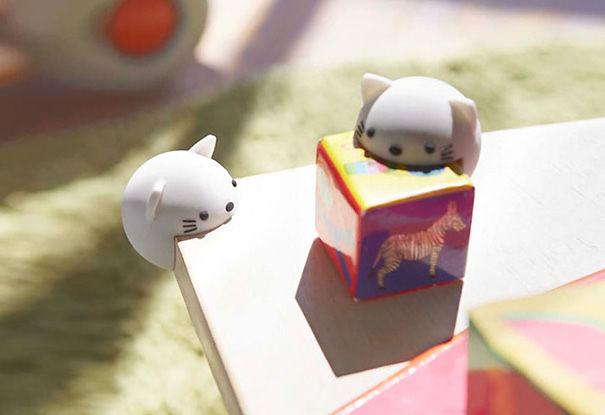 Cute Cat Corner Protector