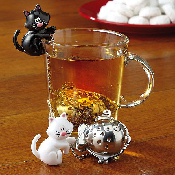 Kitten Tea Cup Infuser