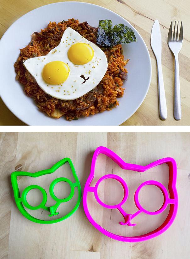 Cat-shaped Egg Mold