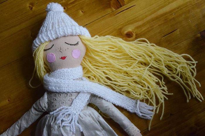 I Hand-Make Cute Dolls To Make Children Happy