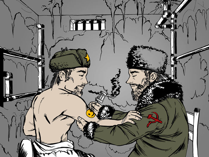 Here Are The Tattoos You Should Get If You're A Russian Criminal In The Soviet Era