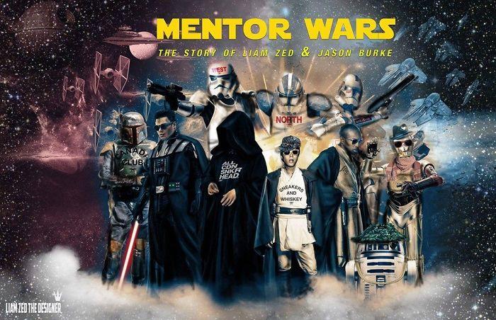 Hilarious Star Wars Fan Poster!