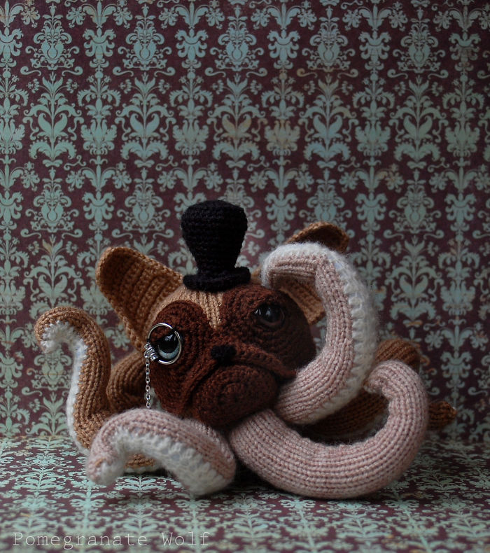 I Crochet Octodogs