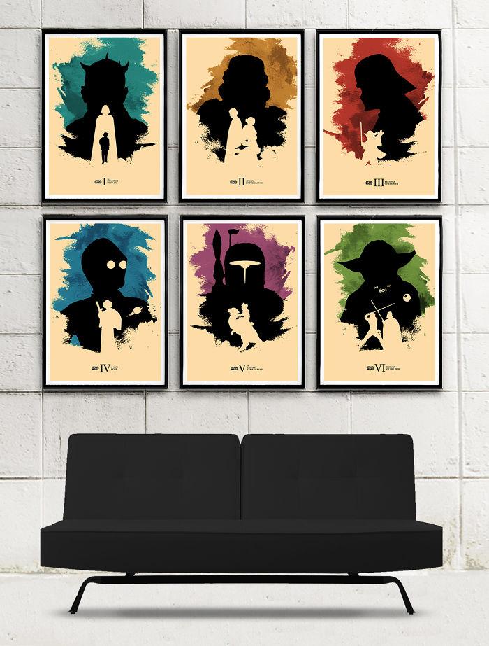I Designed Star Wars Minimalist Posters