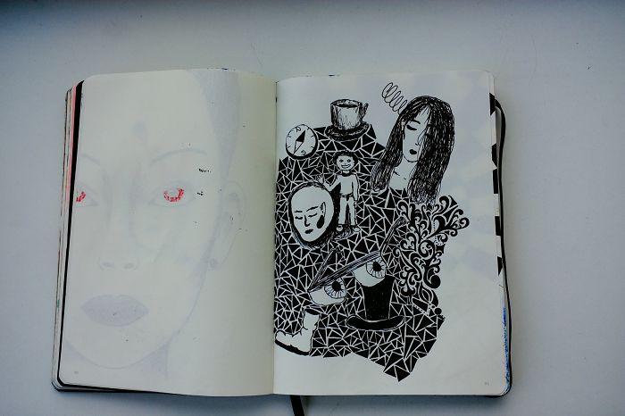I Draw Various Random Drawings (page 90-99)