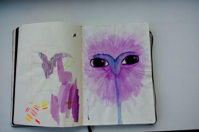 I Draw Various Random Things In My Sketchbook (page 100-109)