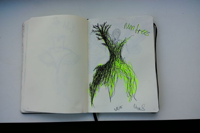 I Draw Various Random Things In My Sketchbook (page 130-149, Several Pages Are Missing)
