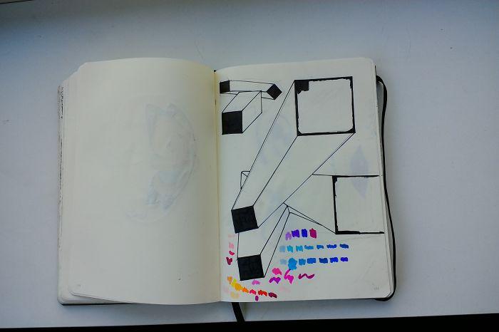 I Draw Various Random Things In My Sketchbook (page 150-159)