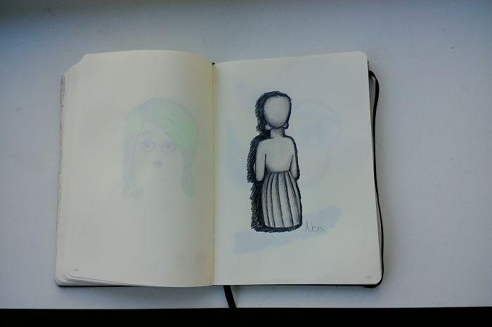 I Draw Various Random Things In My Sketchbook (page 160-166 + 175)