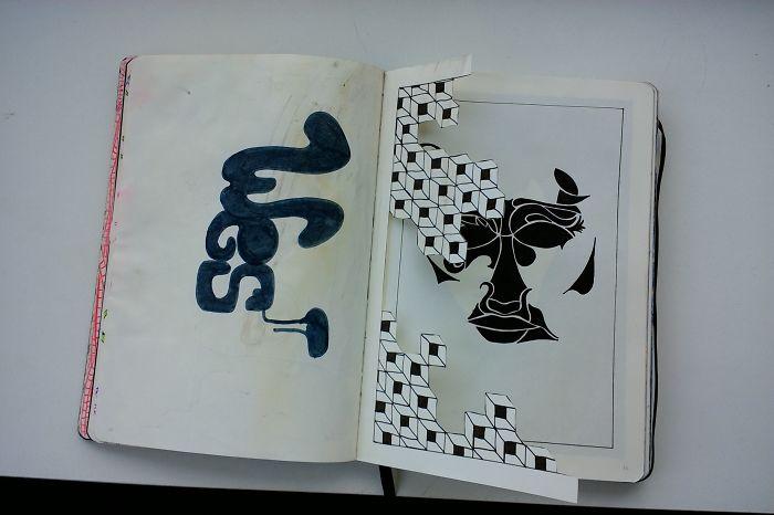 I Draw Various Random Things In My Sketchbook (page 30-39)