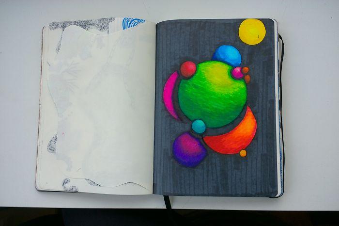 I Draw Various Random Things In My Sketchbook (page 60-69)